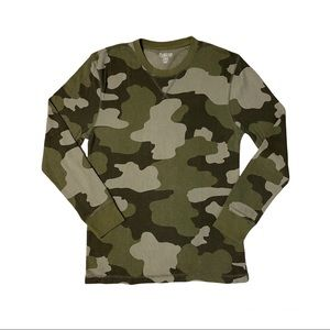 OLD NAVY Men's Camo Long Sleeve Thermal Shirt Size M